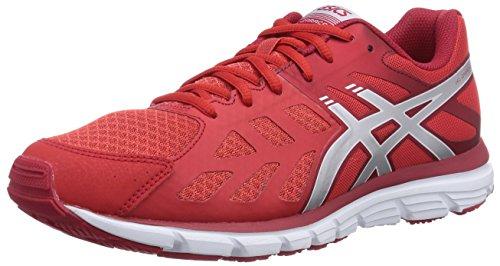Asics  Gel-Zaraca 3, Scarpe sportive, Uomo, Rosso (2393-Red/Silver/White), 44
