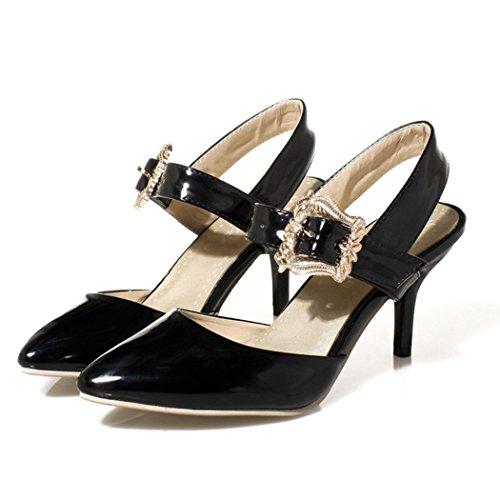 autumn-melody-summer-charm-elegant-close-toe-belt-buckle-fashion-women-high-heels-size-65-us-black