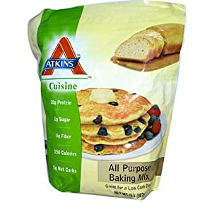 Atkins all purpose bake mix 2 pound bag for Atkins cuisine bread