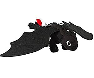 """Dreamworks Dragons Ok Store Dream Works Dragons: How To Train Your Dragon 9"""" Plush Toothless"""