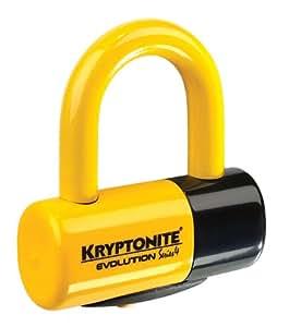 KRYPTONITE ( クリプトナイト ) ロック NEW YORK LOCK [ ニューヨークシリーズ ] EV4 ディスクロック イエロー [ スペアキーシステム ] 盗難見舞金付 999614