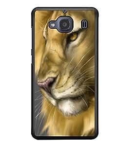 PRINTSWAG LION Designer Back Cover Case for XIAOMI REDMI 2S