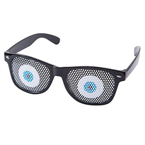 Lunettes yeux bleus