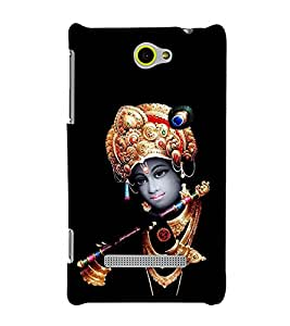 Lord Krishna 3D Hard Polycarbonate Designer Back Case Cover for HTC Windows 8S