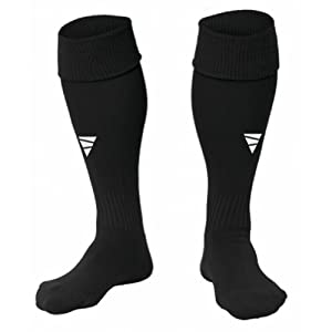 Buy VETRA Focus Socks Football Soccer Game Training Dry-Fast Size 8-12 Us Black White Navy Size Large Mens Adult Rugby Socks... by VETRA