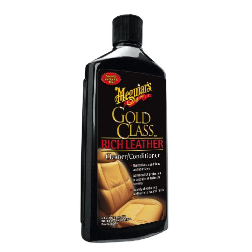 Meguiars Gold Class Leather Cleaner and Conditioner Leather Care 414 ml