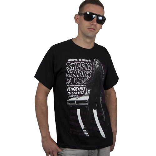 Ezekiel SHEENA Basic Tee Men T-Shirt, black, M