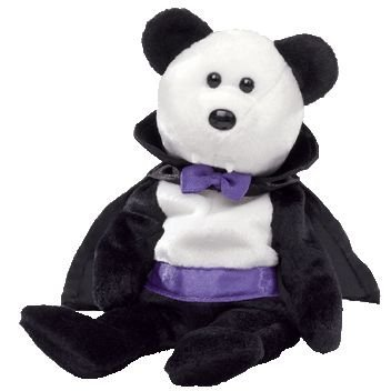 Ty Beanie Babies Count Vampire Bear