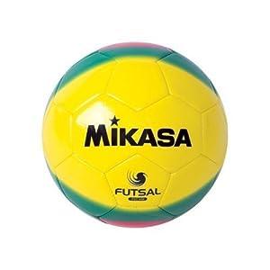 Mikasa America Futsal Ball, Low Bounce Soccer Ball-size 4, Red--yellow by Mikasa Sports