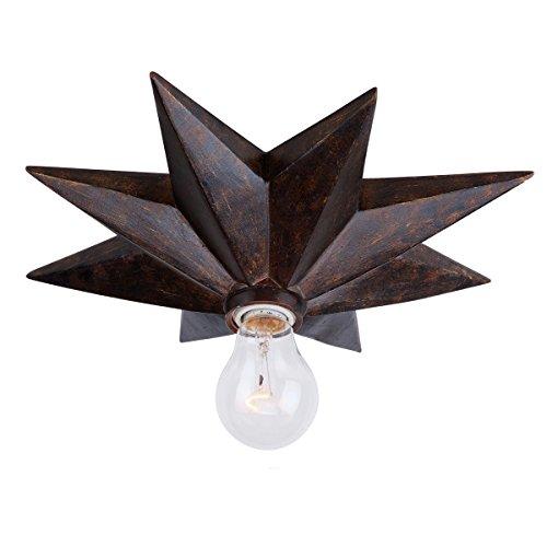 Crystorama 9230-Eb_Ceiling Astro 1-Light Flush Mount, English Bronze Finish front-41894