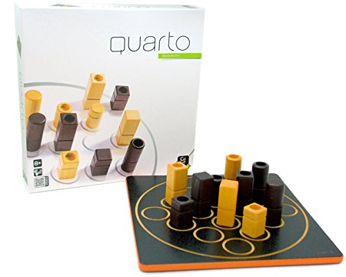 Gigamic Quarto Strategy Classic Game, Multi Color