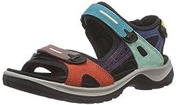 ECCO Women\'s Anniversary Yucatan Sport Sandal, Multicolor, 39 EU/8-8.5 M US