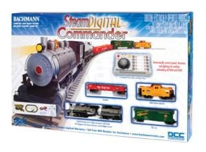 Bachmann Trains Steam Digital Commander Ready-To-Run Dcc-Equipped Ho Train Set front-468553