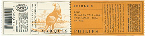 2003 Marquis Philips Shiraz 9 Mclaren Valeêshiraz 750 Ml