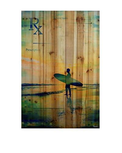 Parvez Taj Rx Surf Wood Wall Art
