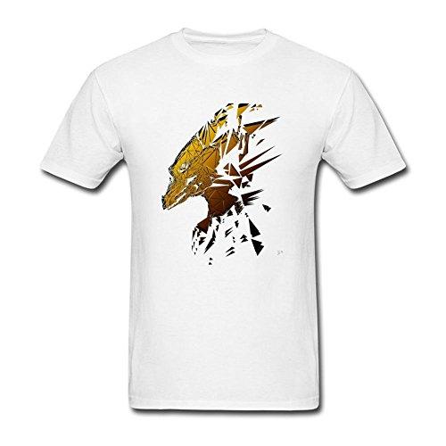 ukc5bd da uomo Deus Ex JC Denton T Shirt White Small