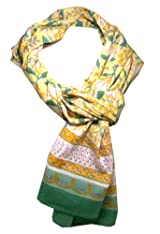 Anokhi 100% Cotton Voile Magnoia Fashion Scarf *New for Spring