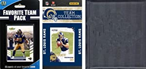 NFL St. Louis Rams Licensed 2010 Score Team Set and Favorite Player Trading Card Pack... by C&I Collectables