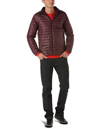 Timberland Quilted Insulated - Blouson - Homme - Marron (Wine Tasting) - S