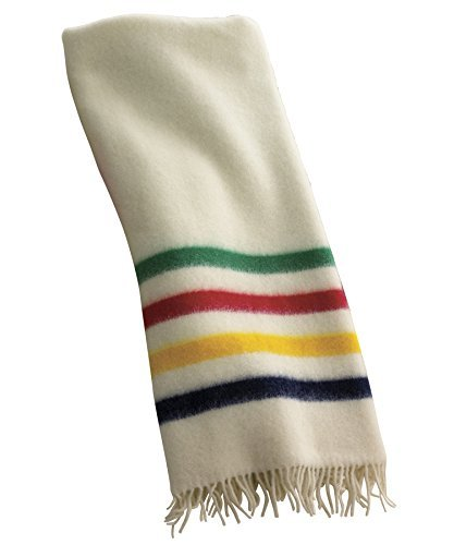 hudson-bay-capote-throw-natural-with-multi-stripes-by-woolrich