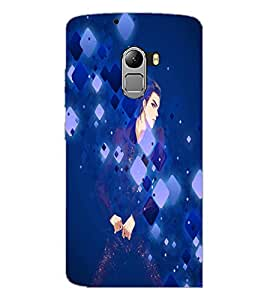 PrintDhaba Stylish Boy D-4930 Back Case Cover for LENOVO K4 NOTE A7010 (Multi-Coloured)