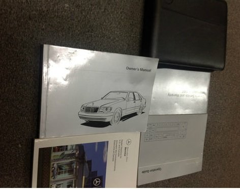 1997 MERCEDES BENZ S CLASS S320 S420 S500 S 500 Owners Manual SET KIT W CASE OEM (S320 Mercedes compare prices)