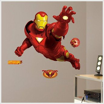 Iron Man Giant Wall Decal