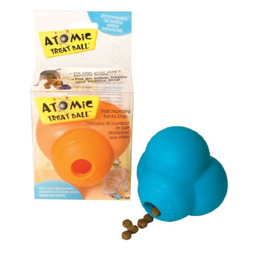 Our Pets DT-10174 Atomic Dog Treat Ball – 3 Inch