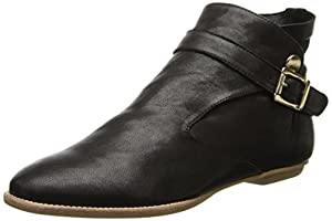 House of Harlow 1960 Women's Hollie Boot,Black Leather,6.5 M US