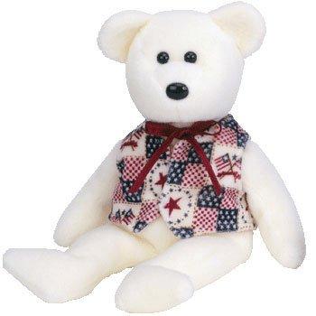 Ty Beanie Babies LIBERT-e - Bear (Ty Store Exclusive) - 1
