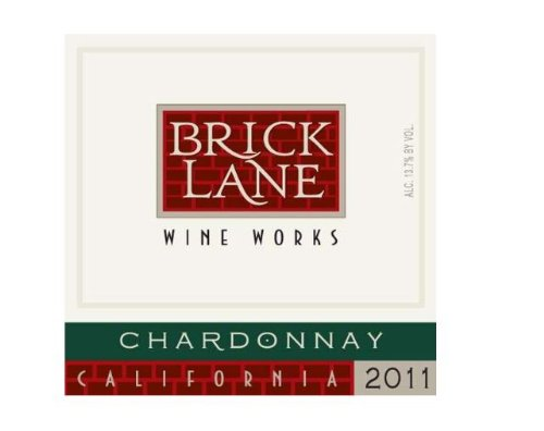 2011 Brick Lane Wine Works Chardonnay, California 750 Ml
