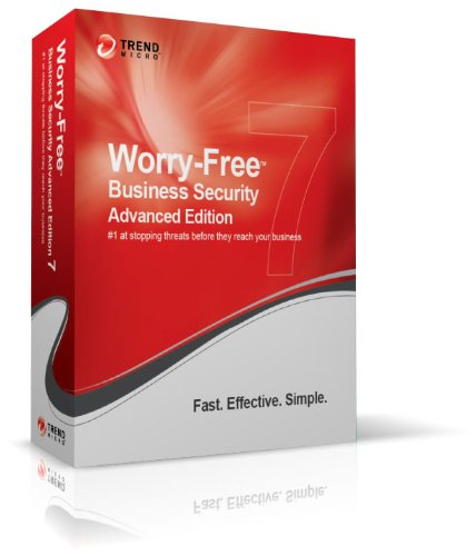 Trend Micro Worry-Free Business Security Advanced - ( v. 7.x ) - subscription package ( 1 year ) - 15 users - Win, Mac - Multilingual