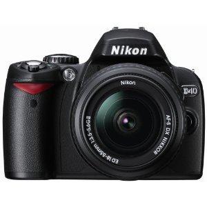 Nikon D80 10.2MP Digital SLR Camera Kit with 18-55mm ED AF-S DX Zoom-Nikkor Lens