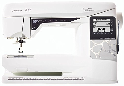 Husqvarna Viking Opal 690Q. GUR Limited offer £799. Includes Quilt Fabrics & Sewing Thread Pack Worth Over £150. While Stocks Last. (Husqvarna Sewing Machine Needles compare prices)
