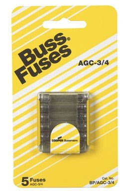 Bussmann BP/AGC3/4 Fast Acting Fuse [sa]united states bussmann fuse t tron fuse jjs 125 jjs 250 250a 600v