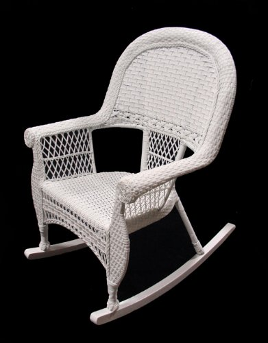 39 white resin wicker outdoor patio rocking chair best patio furniture reviews. Black Bedroom Furniture Sets. Home Design Ideas