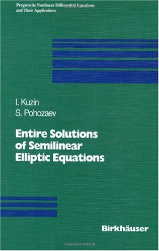Entire solutions of semilinear elliptic equations