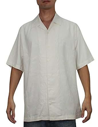 Tommy bahama mens button down short sleeve silk camp shirt for Tommy bahama short sleeve silk camp shirt