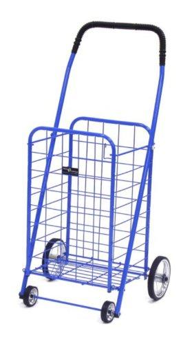 Easy Wheels Mini Shopping Cart BlueB0000UZ6JK