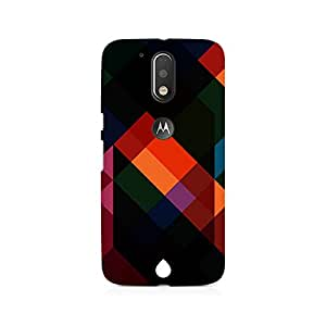 NXT GEN Colorful Abstract Art Premium Printed Mobile Back Case For Moto G4/G4 Plus
