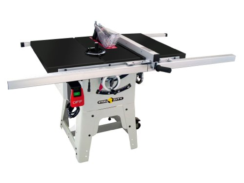 Steel City Tool Works 35990G 10-Inch Contractor Table Saw with Granite Table Top