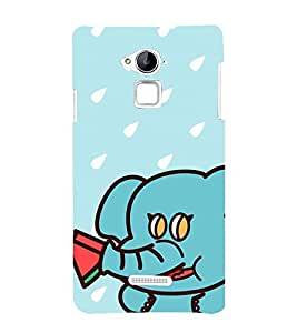 Vizagbeats Elephant Funny Back Case Cover for Coolpad Note 3