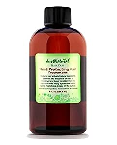 Heat Protecting Hair Treatment from Just Natural Products