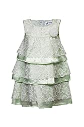 Soulfairy Girls' Dress (SS16-DRSFRL-025_Mint_6-12 Months)