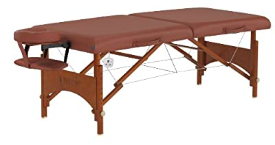 Master Massage Fairlane Therma Top Regulation Size Portable Massage Table, 28 Inch