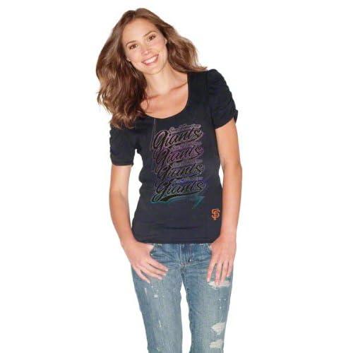 San Francisco Giants Womens Puff T Shirt
