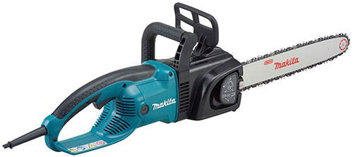 Makita Uc4030A Commercial-Grade 16-Inch 14.5 Amp Electric Chain Saw With Tool-Less Blade And Chain Adjustments