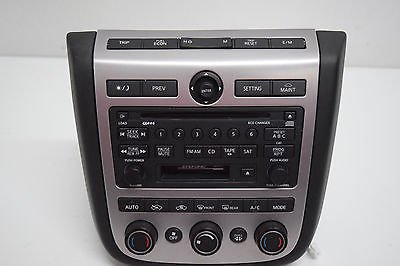 03-04-05-nissan-murano-bose-6-disc-cd-player-radio-dual-climate-control