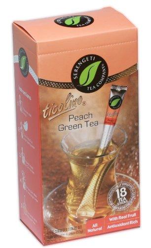 Peach Green Tea Sticks