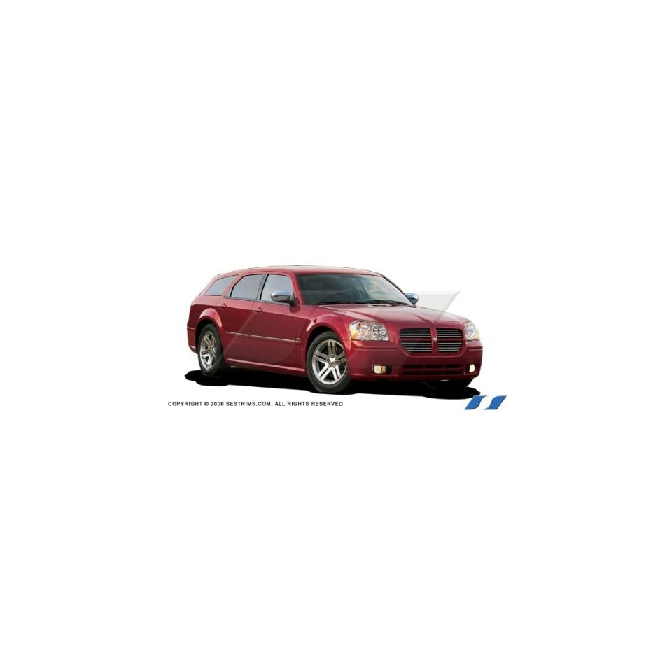 Dodge Magnum 2005 2011 (Painted) SES Chrome Mirror Covers